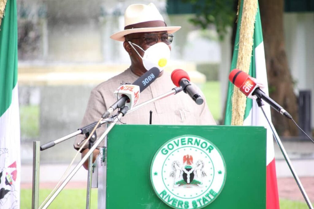 COVID-19: Wike declares compulsory use of face masks in Rivers