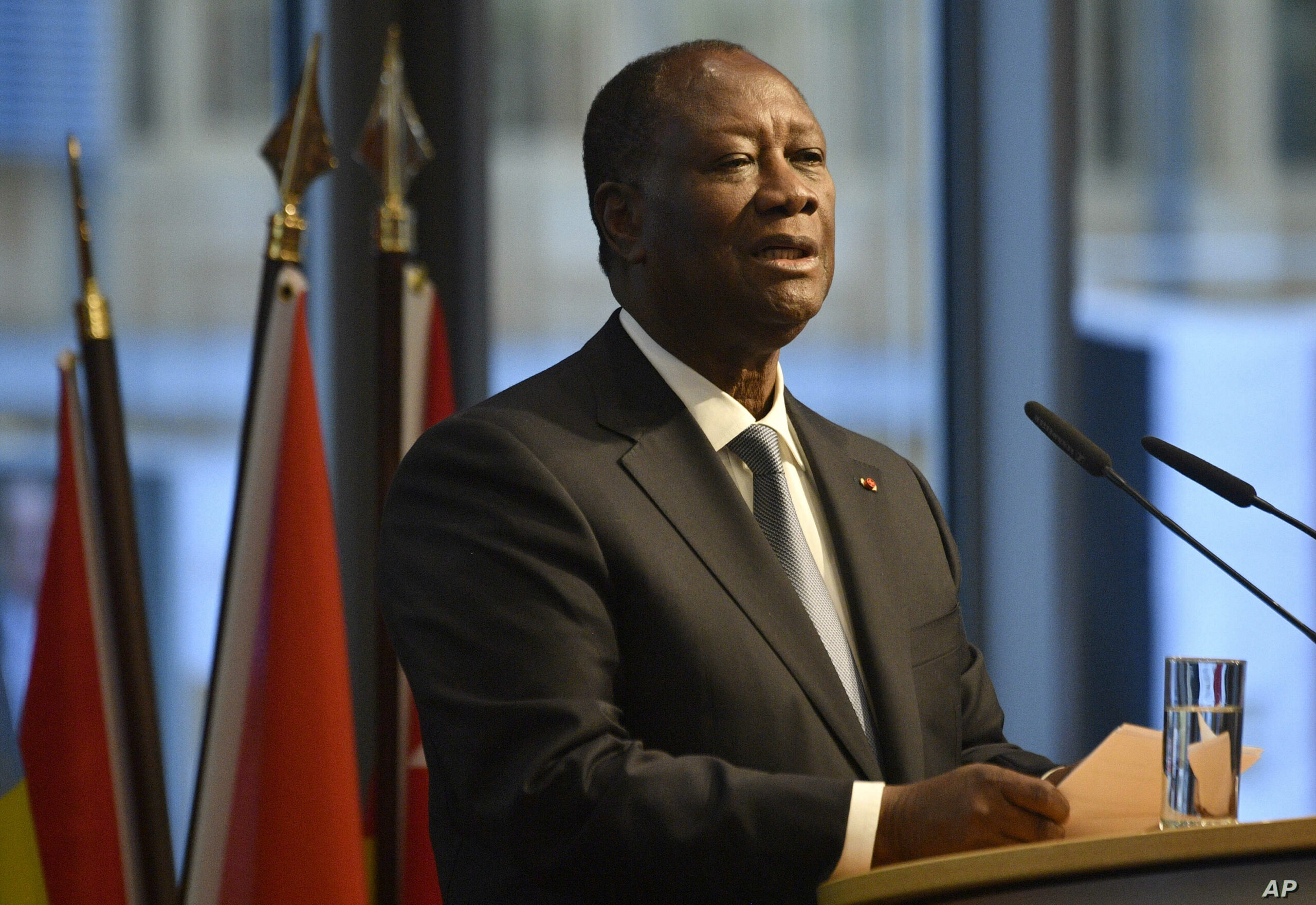Ivory Coast ruling party mulls third term bid for Ouattara