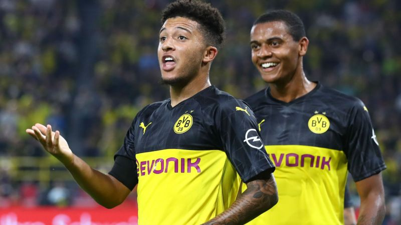 Pogba excited at possibility of Sancho signing for Man United