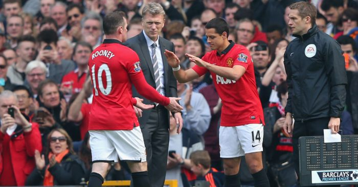 Chicharito slams Moyes over 'error' that 'still haunts' Man United