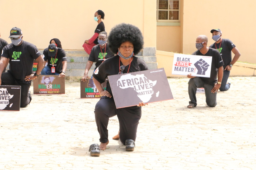 ActionAid Nigeria joins Black Lives Matters protest, organizes rally