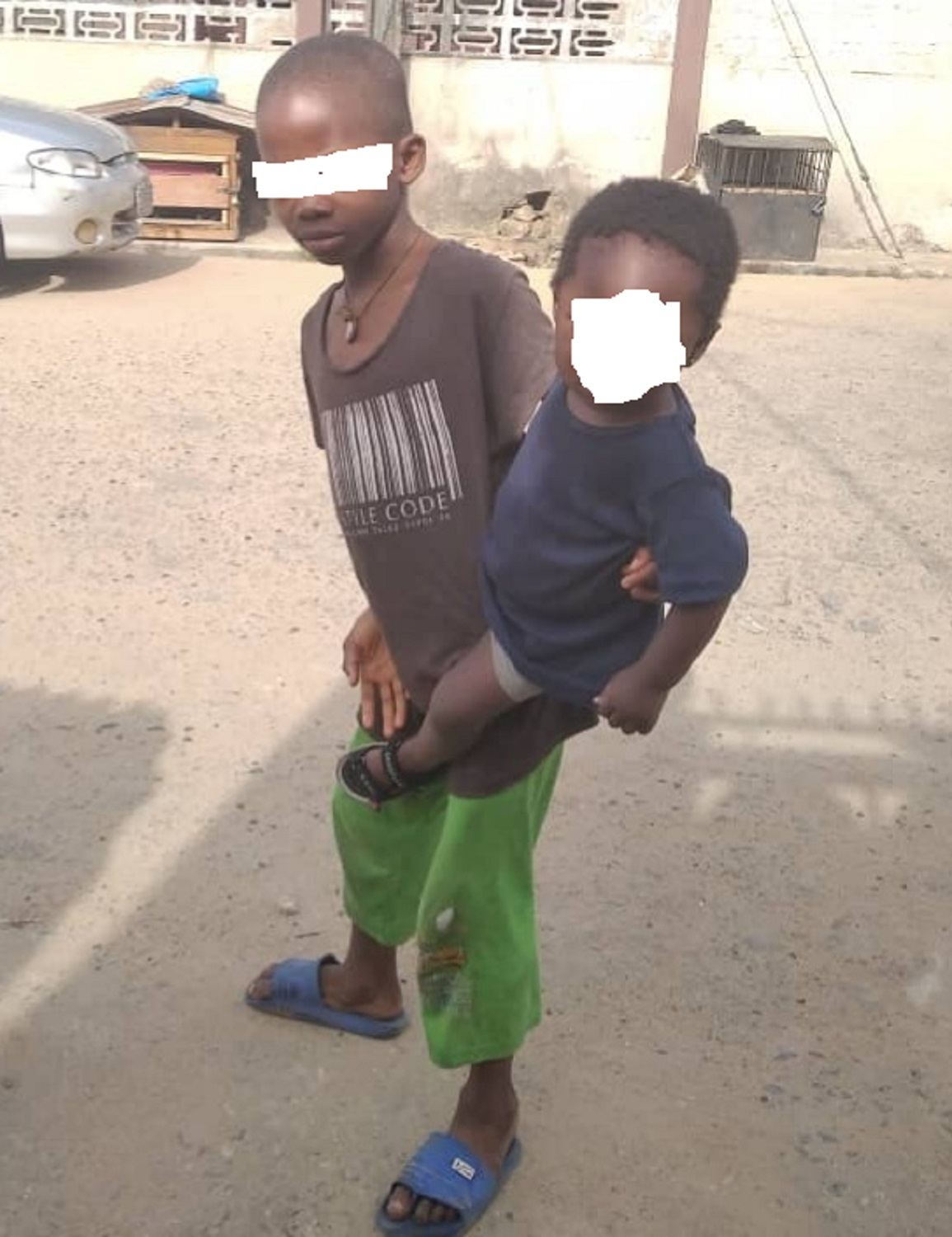 Couple arrested for child abuse in Lagos