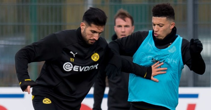 Emre Can advices Dortmund teammate Sancho to 'grow up'