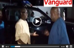 VIDEO: Drama between Ondo Deputy Governor and Police Commissioner