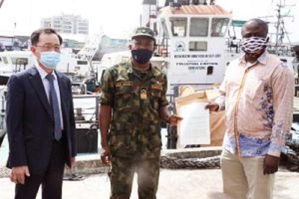 Nigeria hands over suspected vessel, crew to Ghana for investigation