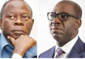 Oshiomhole wants to announce Obaseki's disqualification from APC primaries — Edo govt