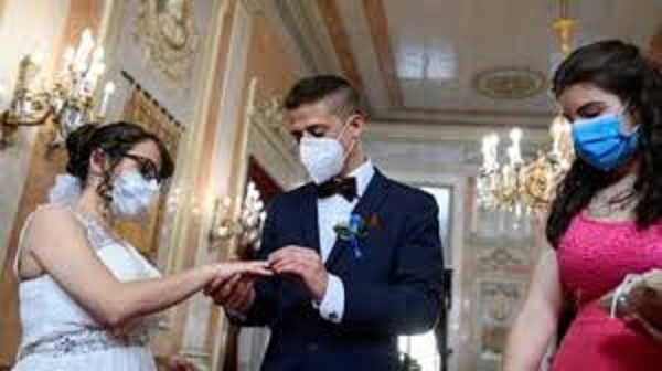 To have but not to hold: Post- Lockdown wedding rules in England