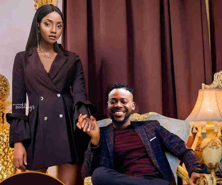 Never before seen photos of Adekunle Gold, Simi's wedding