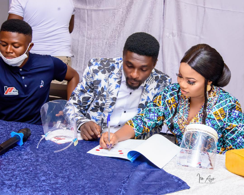 KAB unveils Nollywood couple as Brand Ambassador
