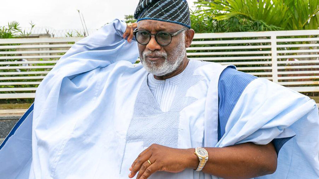 Akeredolu, Oke commiserate with Senator Ndoma-Egba over death of wife