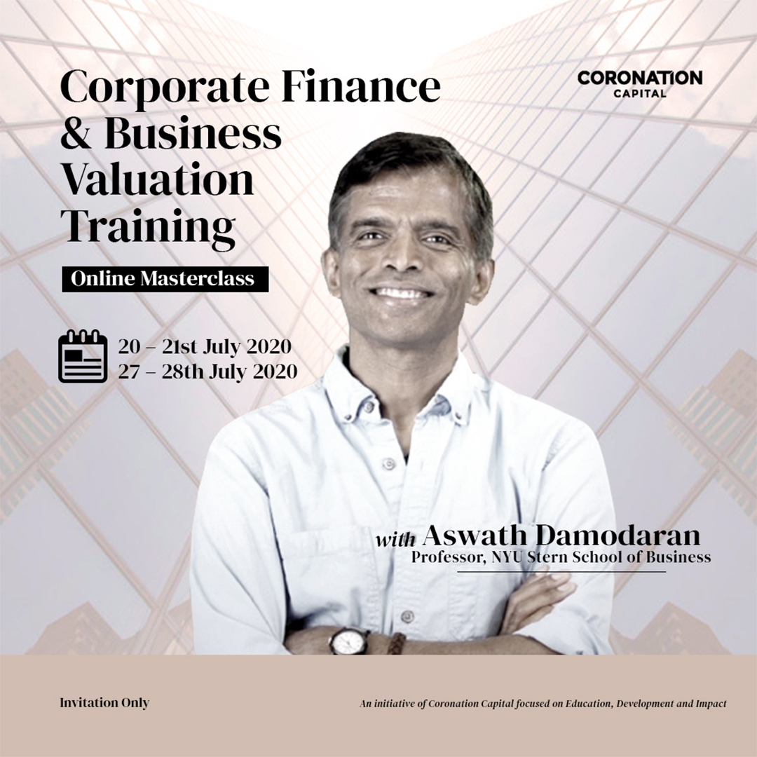 Coronation Capital Limited organizes 2nd edition of its Corporate Finance and Business Valuation Online Training