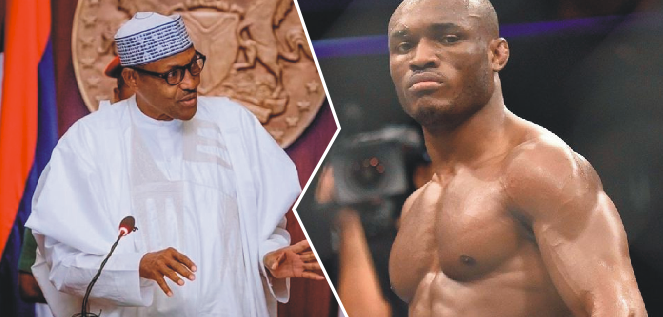 Kamaru Usman: Good things, great people still come out of Nigeria – Buhari