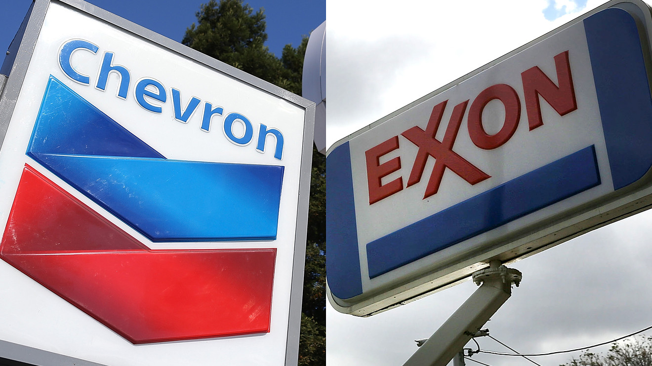 Exxon Mobil, Chevron report losses on weak oil prices - Vanguard News