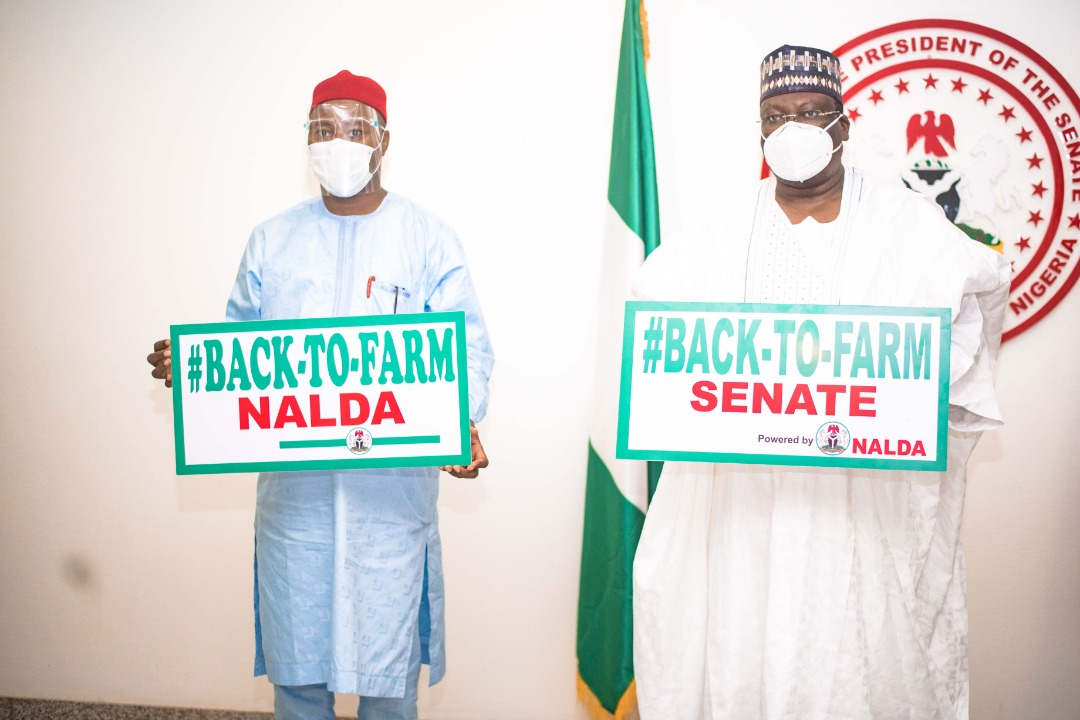Senate President hails FG's NALDA back-to-farm initiative