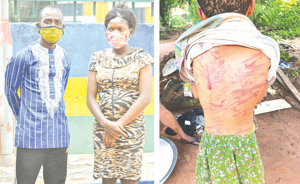 Woman abuses 12-year-old stepdaughter with electric cable, stick, shoe in Enugu