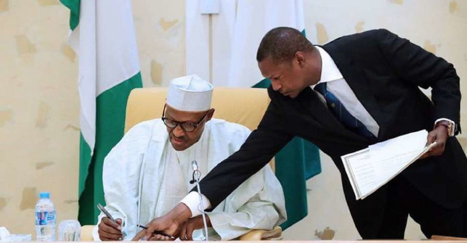 Image result for Ex-SPIP prosecutor sues Buhari, Malami for copyright law violations