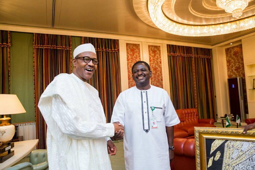 Femi Adesina: Buhari and Arthur Who?