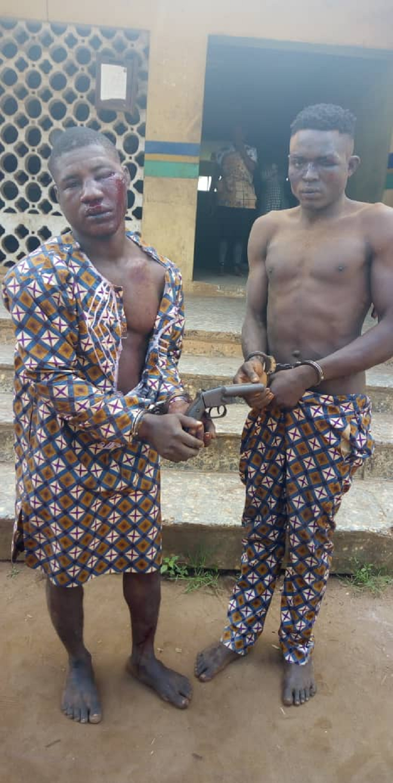 Two motorcycle snatchers arrested in Ogun