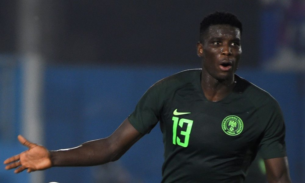 Super Eagles striker contracts Coronavirus