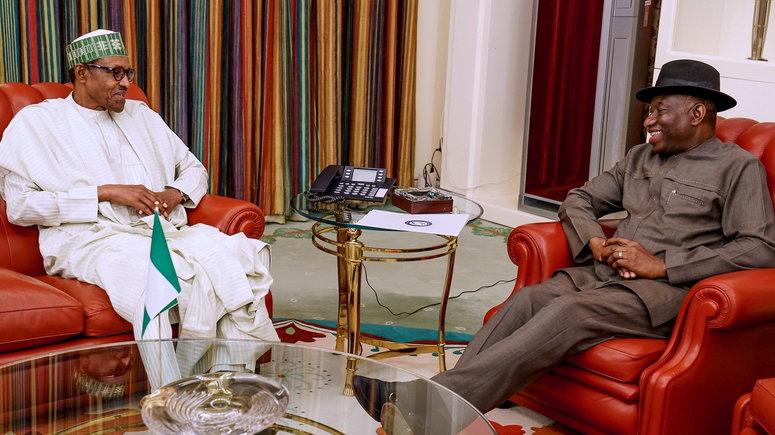 Jonathan speaks on Buhari's govt