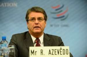 Exiting WTO chief rates self 12 on one to 10 scale