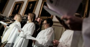 In Sweden, female priests now outnumber male ones