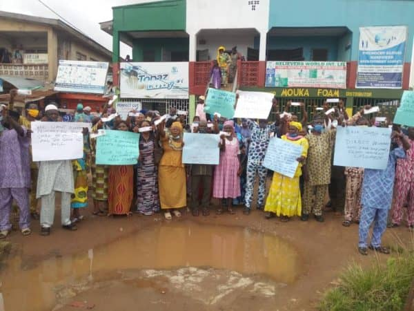 ONDO 2020: Protest rock Ondo over indirect primary nine days to election