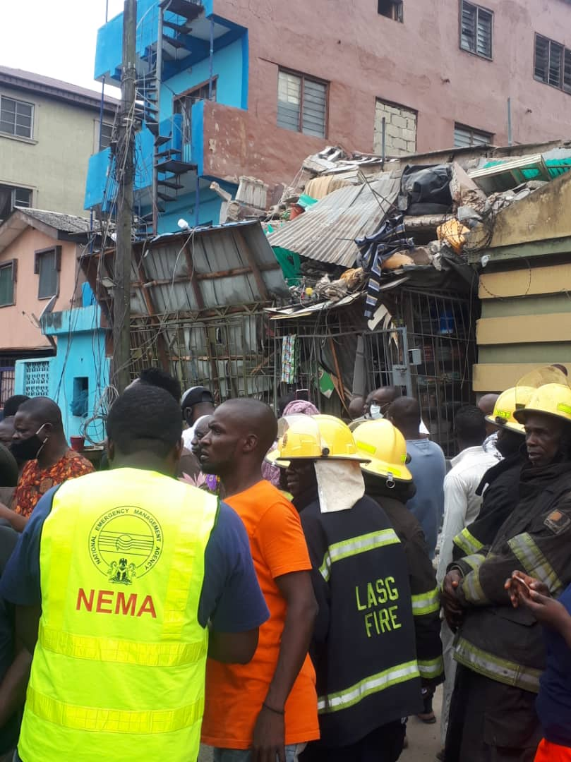 30 yr old woman rescued from Lagos collapsed building