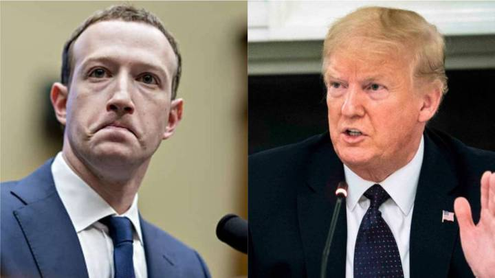 Zuckerberg, Trump