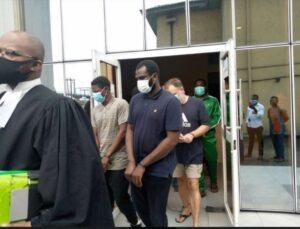 Three expatriates, 6 Nigerians remanded for alleged terrorism