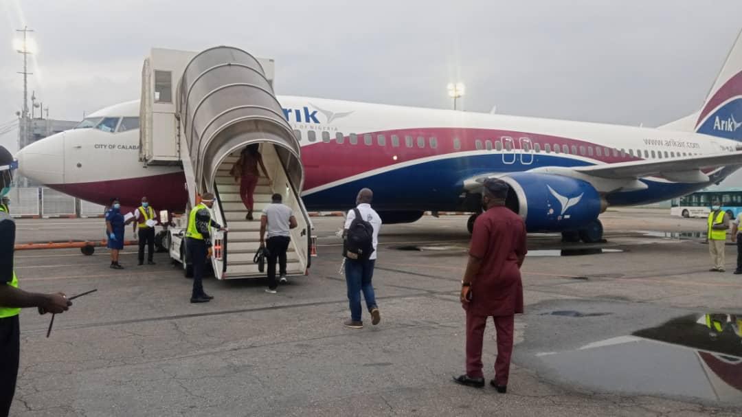 Flight resumes operation in lagos