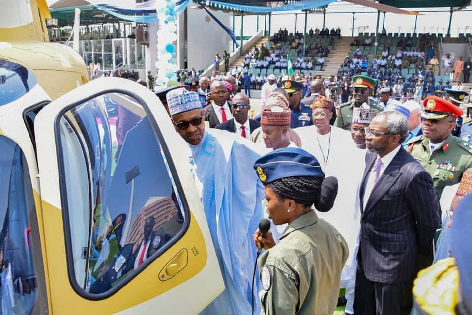 Buhari mourns first female Combat Helicopter Pilot, Tolulope ...