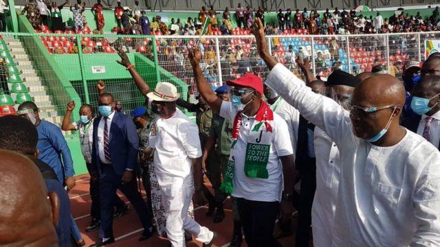 Edo 2020: Tight security as APC, PDP hold rallies in Benin