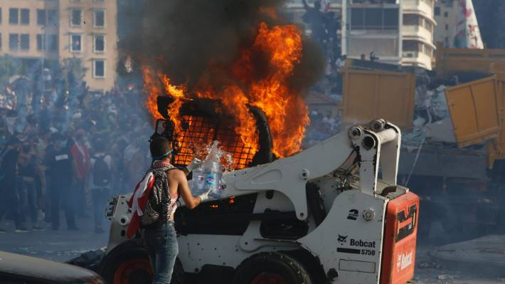 Policeman dead, 238 injured as Beirut blast protests turn violent