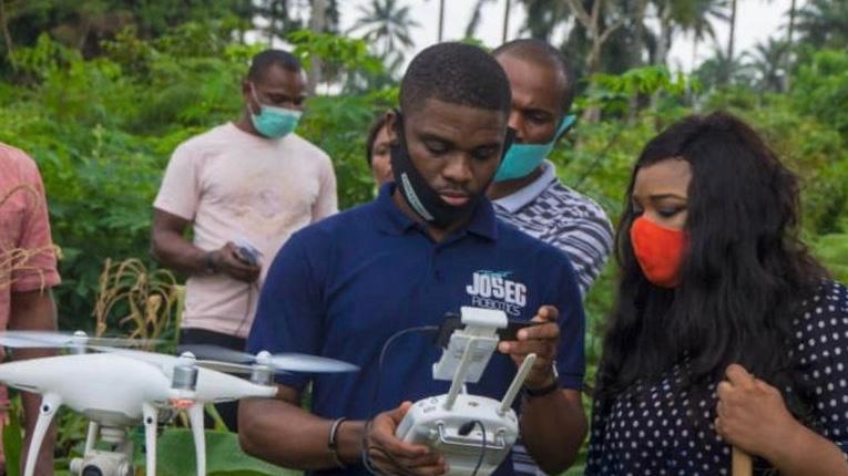 Agricultural Innovation: Drones, NDVA on display in Akwa Ibom as 'Our farms NG' holds field day for Entrepreneurs