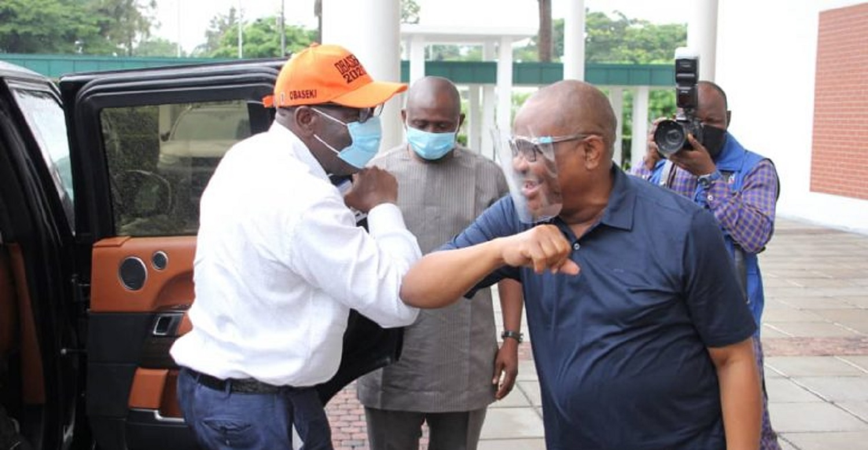 Edo electoral victory strategies hatched in Rivers — Obaseki