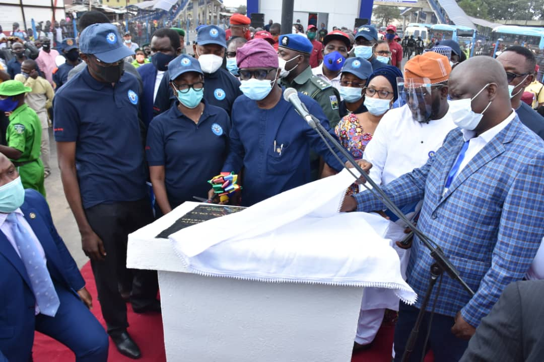 Sanwo-Olu flags off 13.65Km Oshodi-Abule-Egba BRT corridor, charges residents to take ownership
