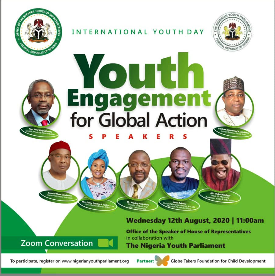 International Youth Day, Gbajabiamila, Uzodimma