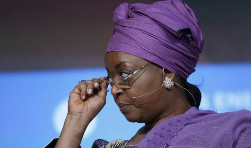 'Hushmummy': Nigerians react to Diezani's 'Yahoo boys role model' comment