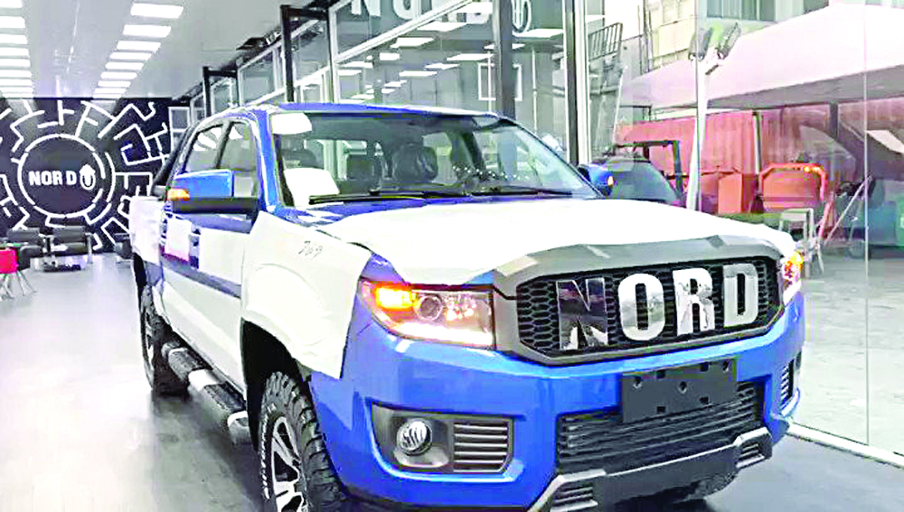 Nord rolls out pick-ups from Lagos plant