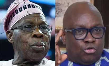 Kashamu: Fayose fumes, says he'll send Obasanjo to jail if he becomes president