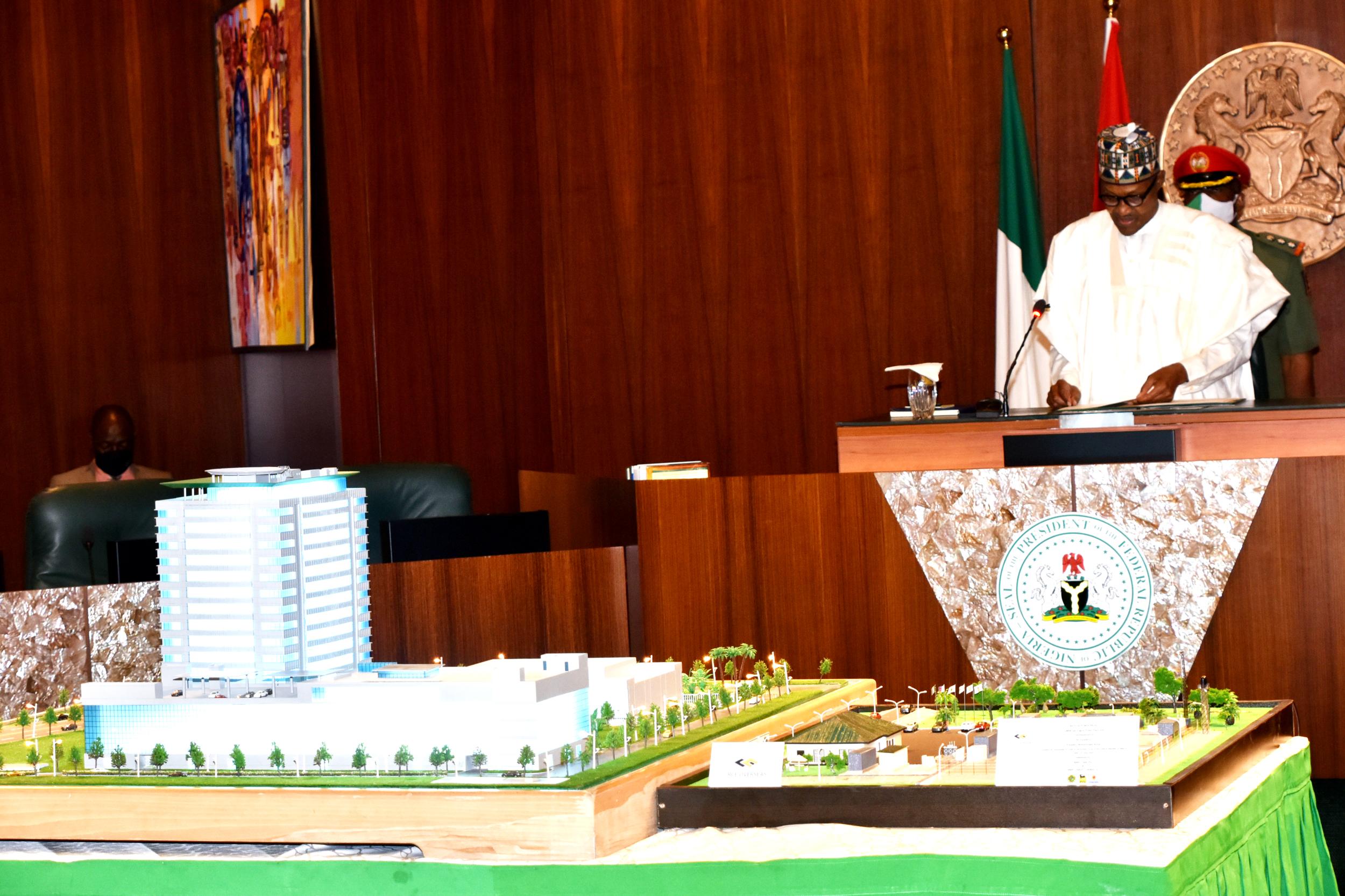 Buhari commissions NCDMB hdqrts building in Bayelsa