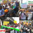 Again, Police stop #RevolutionNow protest in Lagos as SERAP, others condemn attacks