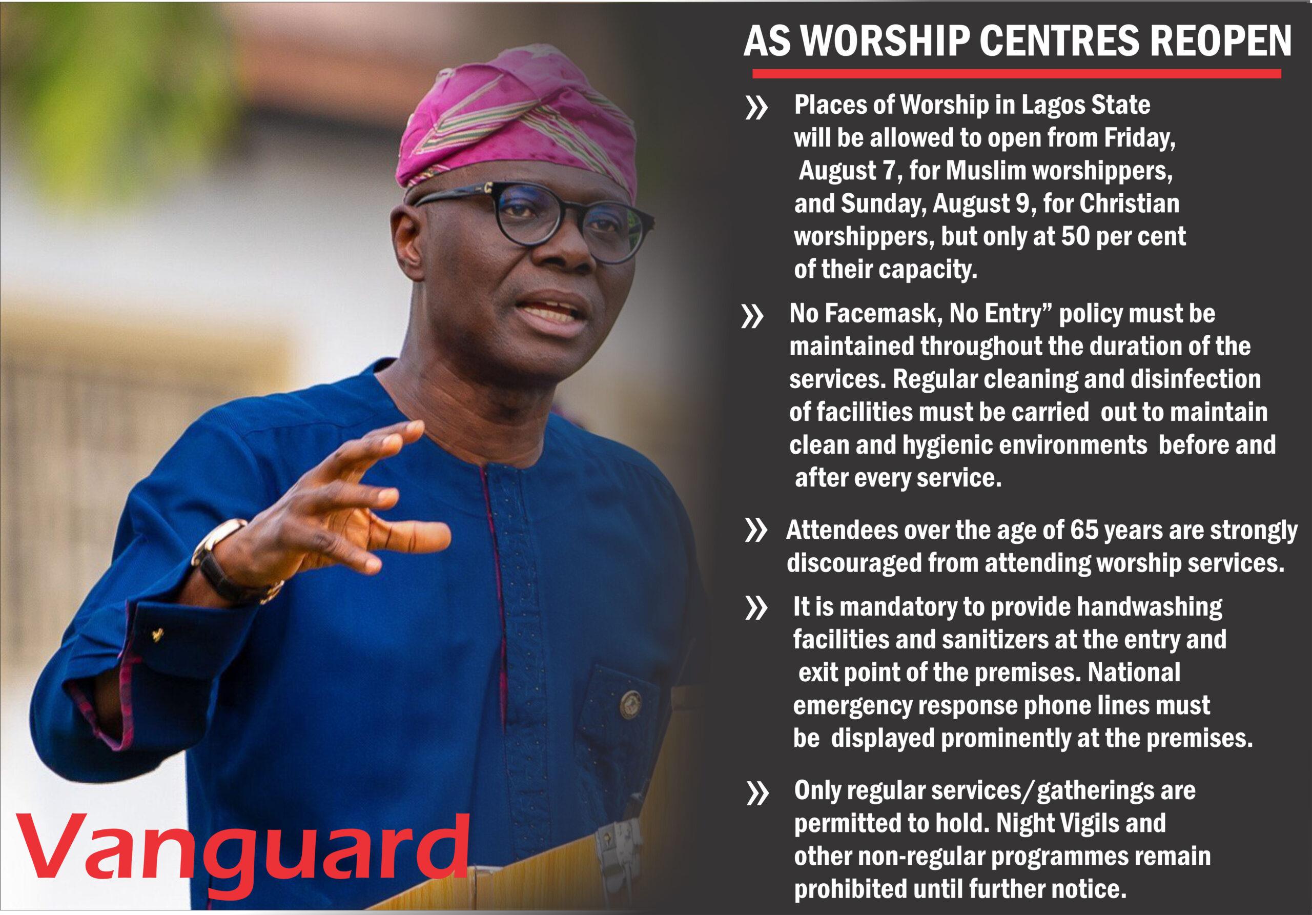 Spas, night clubs, cinemas, bars remain shut in Lagos