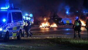 Riots in Sweden over burning of Quran by activists