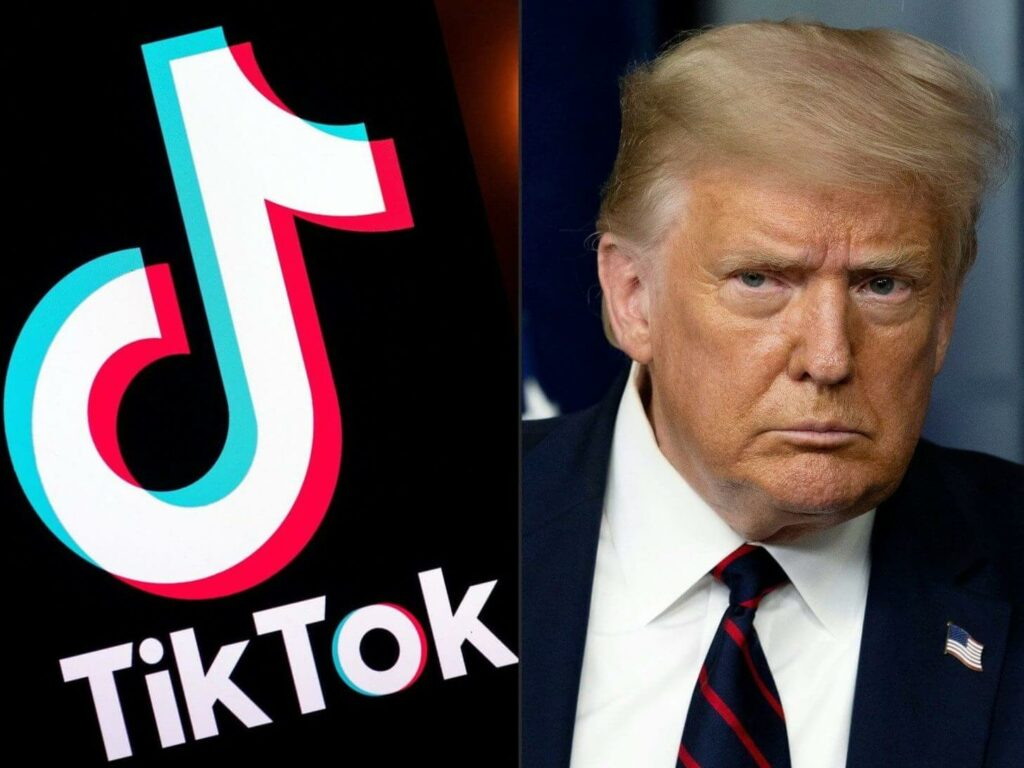 Trump orders ban on dealings with TikTok's Chinese owner