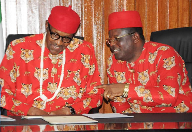 Umahi to Buhari: Don't sack service chiefs, increase army funds