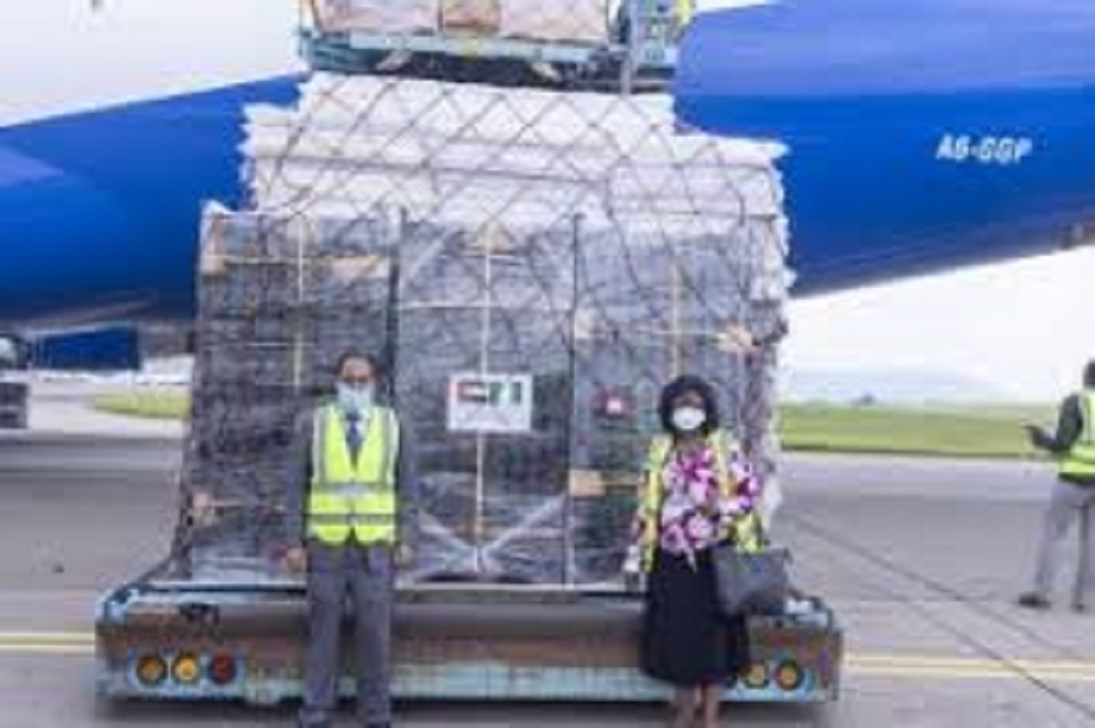 UAE donates 7.5 tonnes of medical supplies to Nigerian Govt