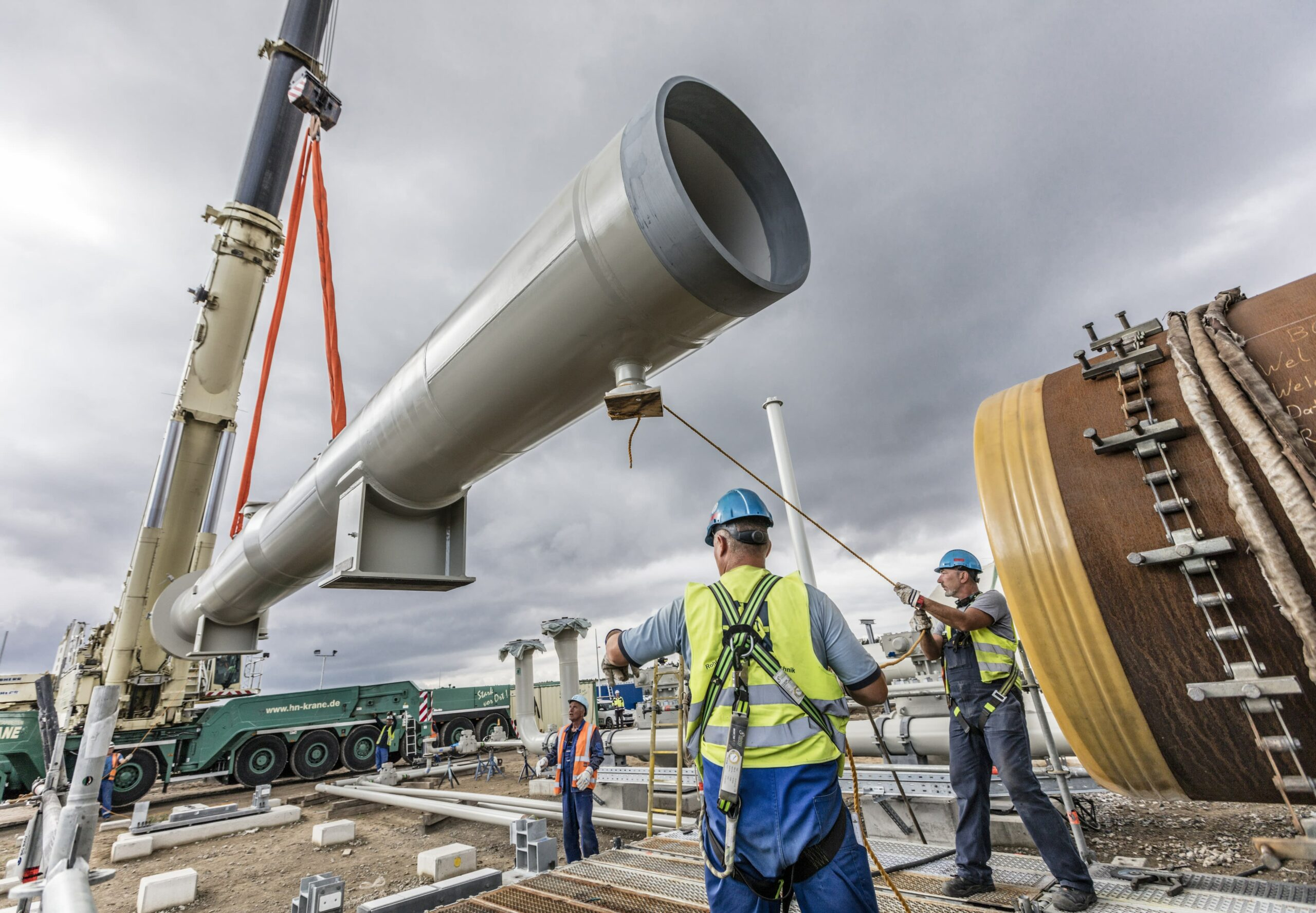 Lobbying for Russian pipeline spikes in Washington