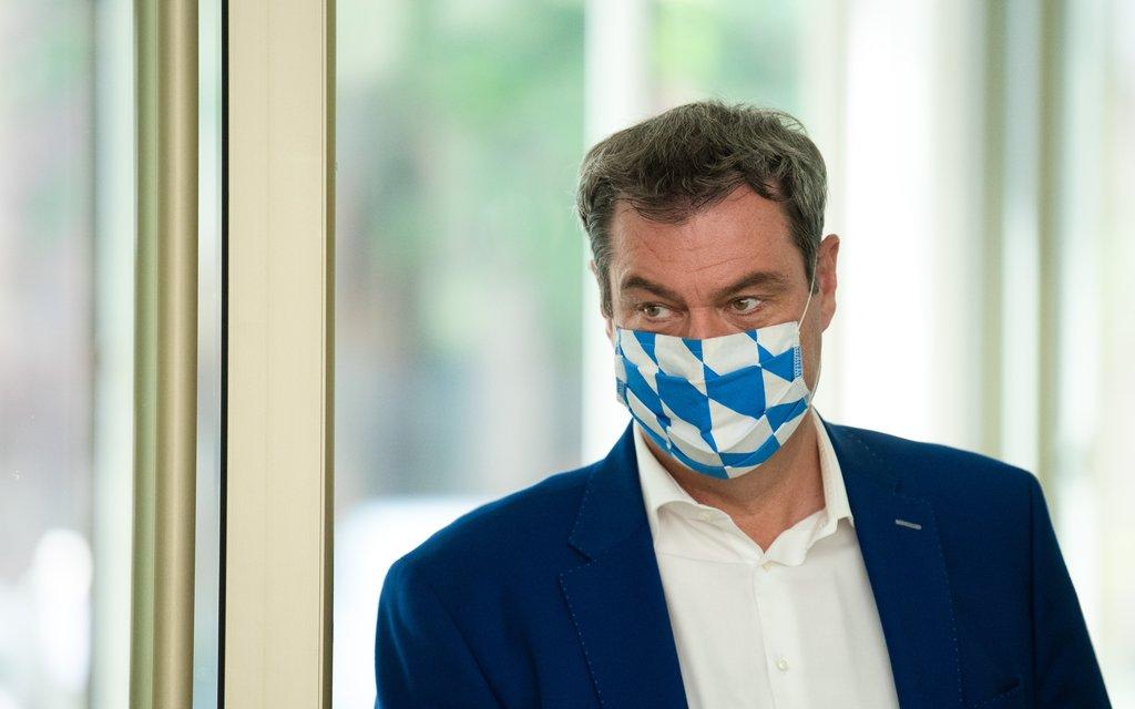 German regional leader admits to 'big blunder' in virus border tests